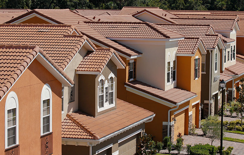 Tile roofing installed tampa bay orlando parlament roofing for Barrel tile roof colors